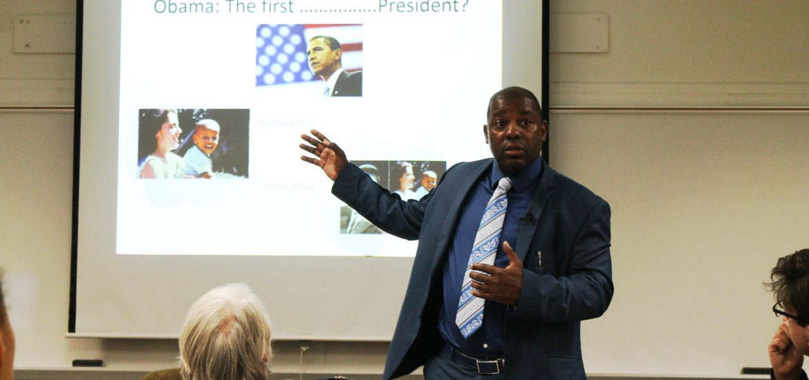 Dr. John T. Mills talks about Barack Obama been a first bi-racial and not African American president