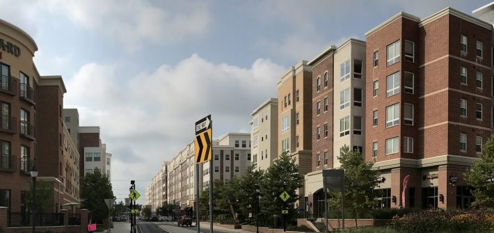 rowan boulevard showing off the hotel and whitney center