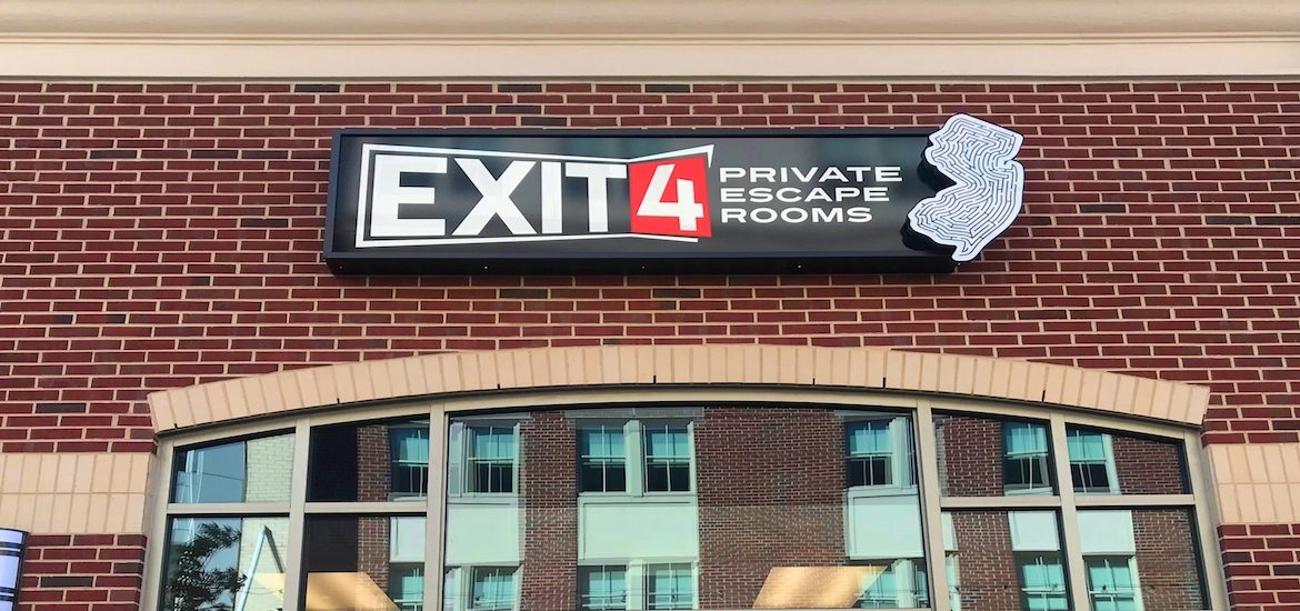 Photo of the exterior of Exit 4.