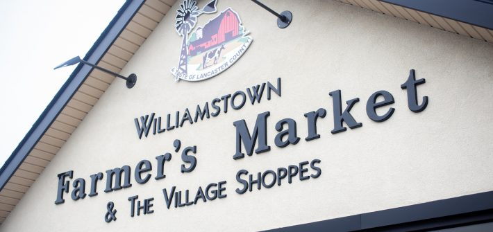 outfront of the Farmers Market in Williamstown