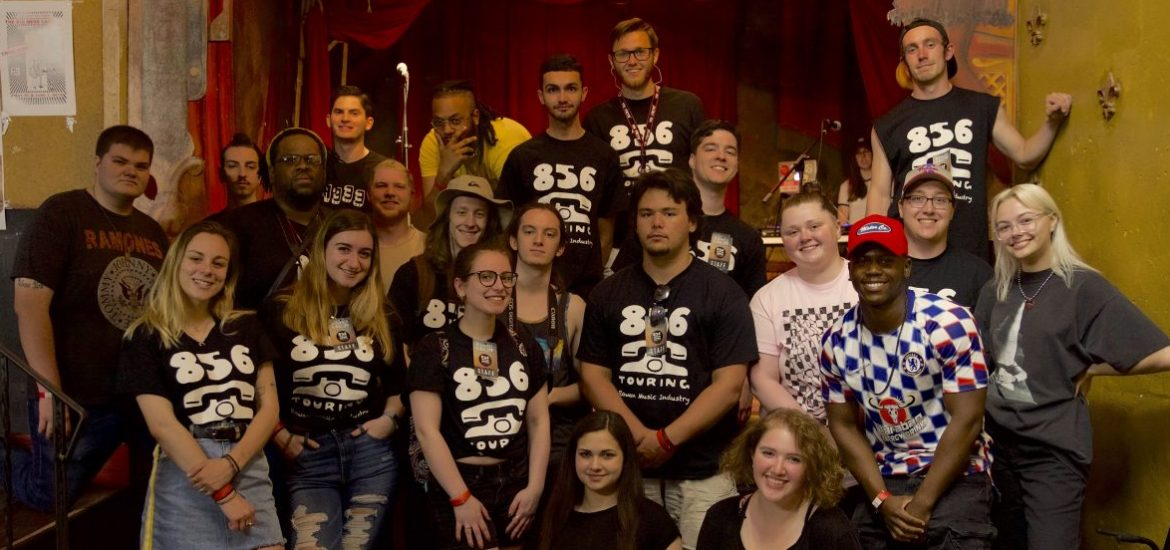 Touring and Concert Promotion class at Rowan