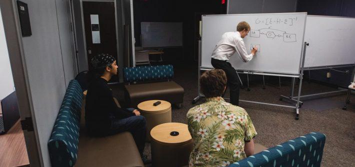 Dr. Erik Hoy teaching his interns