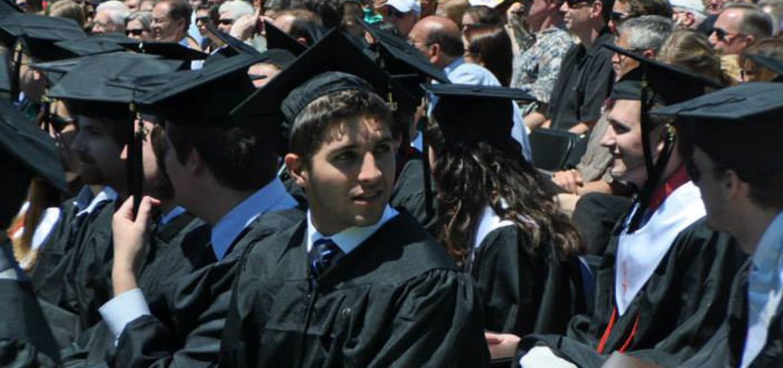 Peter DAmico at his Rowan graduation in 2013