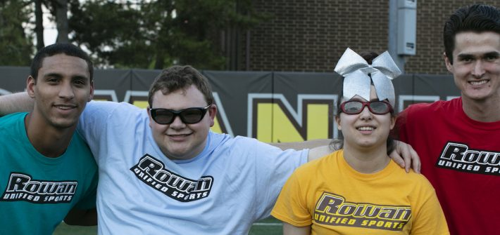 Unified Sports members posing for a photo