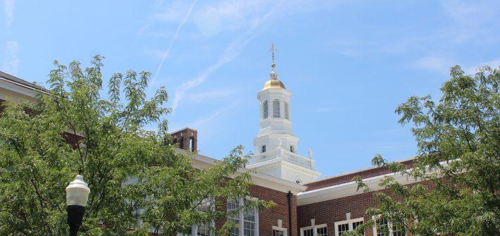 Daytime view of Bunce Hall