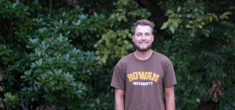 Psychology major and transfer student Greg Joyce