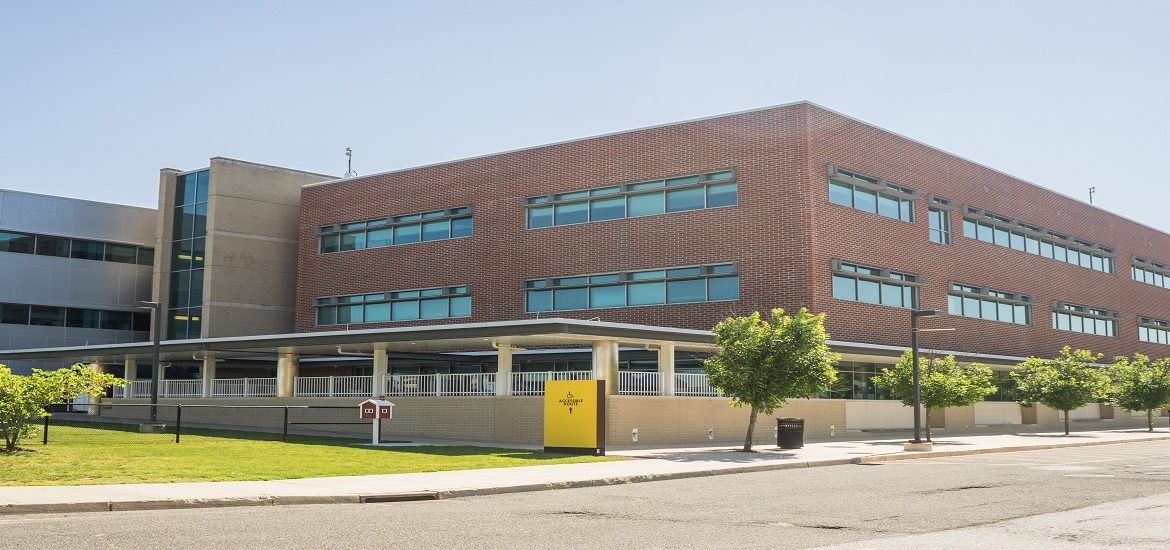 Exterior shot of James Hall, home of the College of Education
