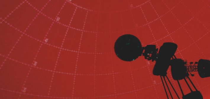 Scene from Rowan's Edelman Planetarium