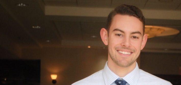 Senior mechanical engineering major Jason Fisch