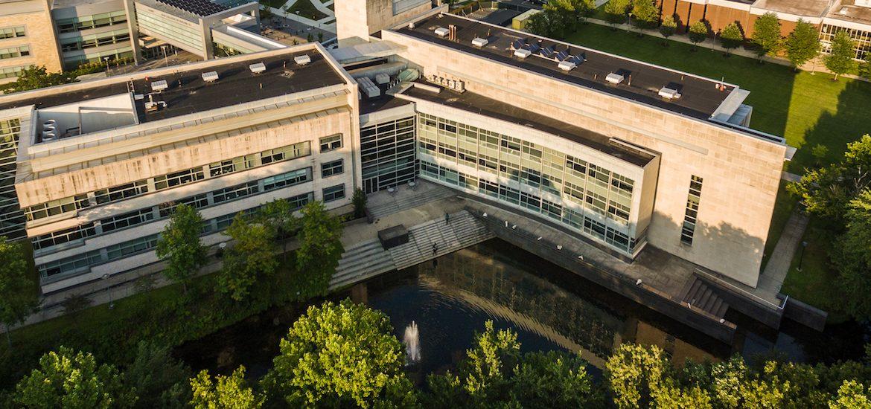 Photo of Engineering Hall.