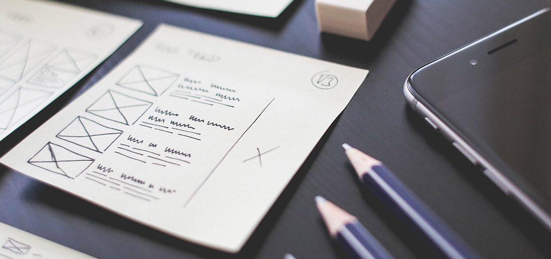 Stock image of graphic design