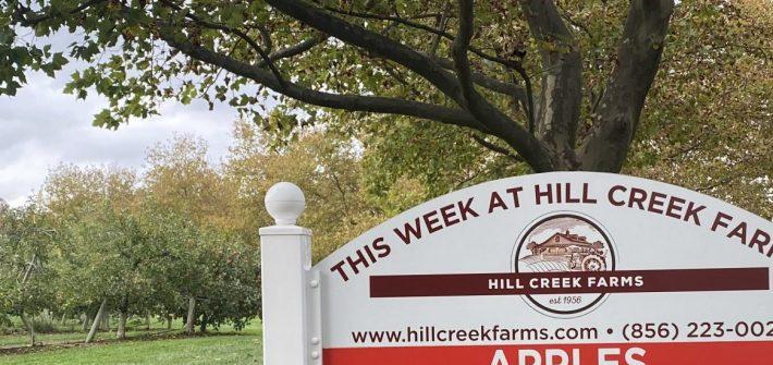 hill creek farms sign