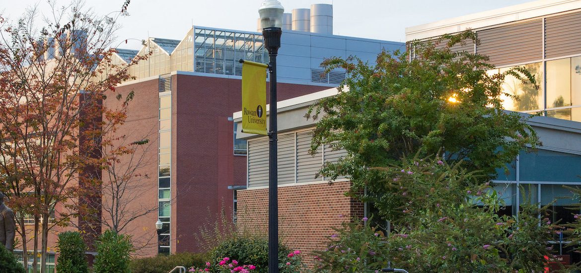 Photo of a building on Rowan's campus.