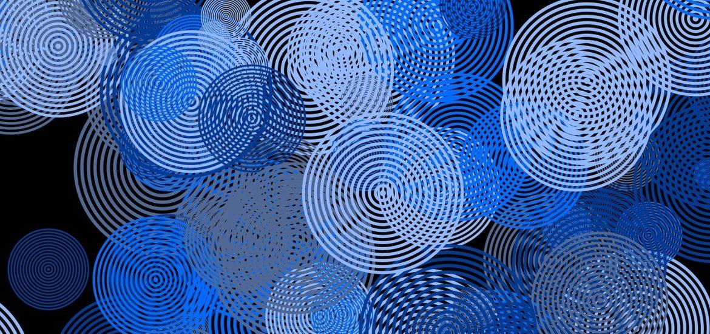 Abstract circles stock photo.