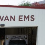 Exterior shot of Rowan EMS headquarters.