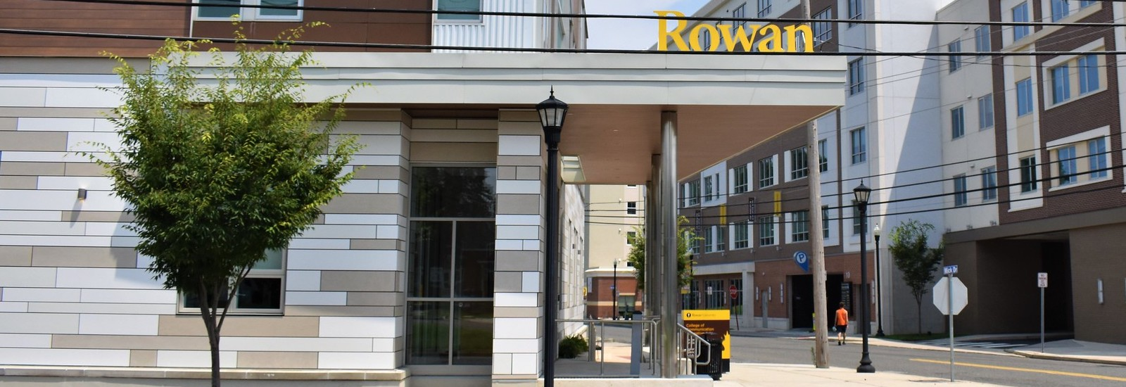 Exterior shot of 301 High St. and Art Gallery entrance.